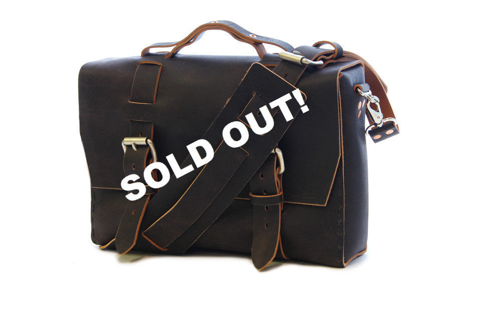 No. 4313 - Distressed Minimalist Satchel - SOLD OUT!