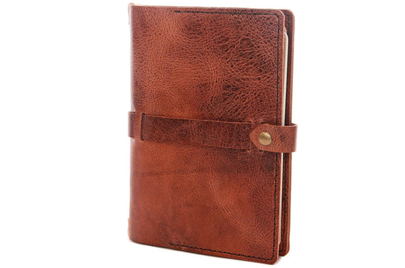 No. 117 - Large Journal Cover in Glazed Tan