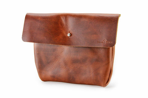 No. 218 - Standard Pouch in Burnt Sienna