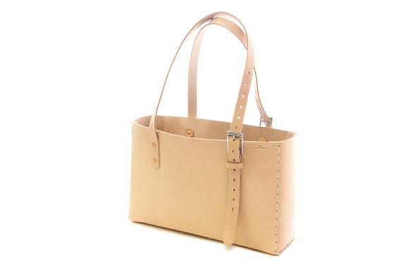 No. 714 - Tote in Natural Tan