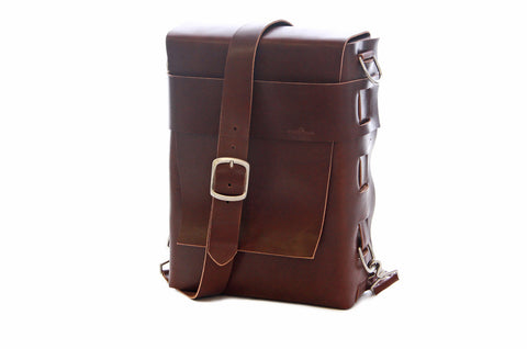 No. 820 - The Classic Handmade Leather Bag in Latigo Brown - ONLY THREE LEFT