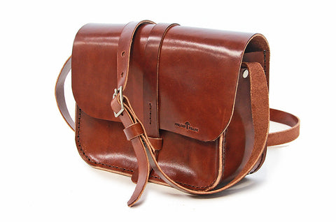 No. 517 The Daily Crossbody Bag in Havana Brown