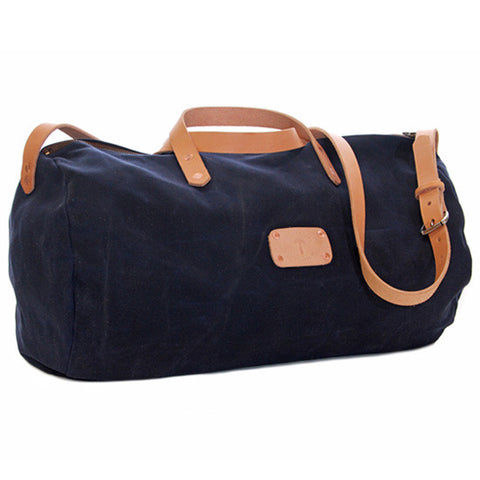 No. 815 - Canvas Duffle in Blue