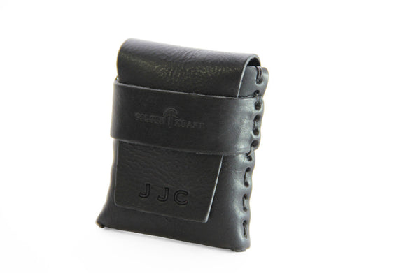 No. 1111 - LIMITED Square MicroWallet w/ Cover in Black