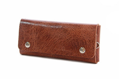 No. 514 - Large Trucker Wallet in Glazed Tan