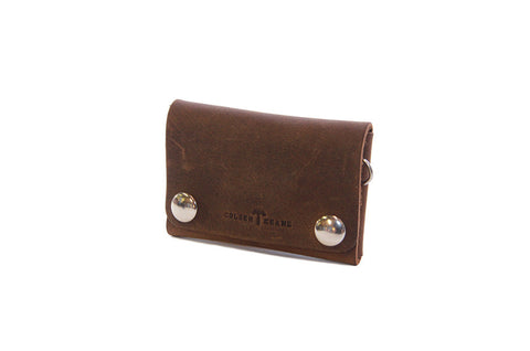 No. 514 - Small Trucker Wallet in Crazy Horse