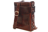 No. 820 The Classic Handmade Leather Bag in Havana Brown