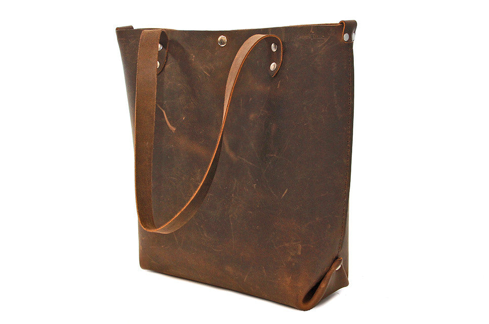 CUSTOM No. 417 Tote in Crazy Horse - SB20 - $272.25