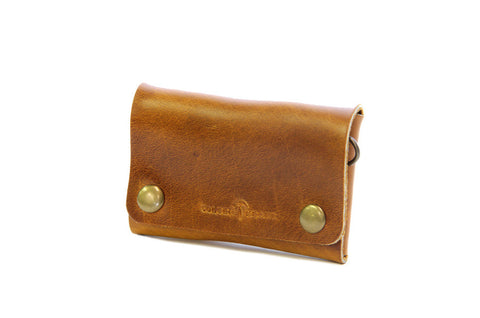 No. 514 - Small Trucker Wallet in Horween's Sunflower