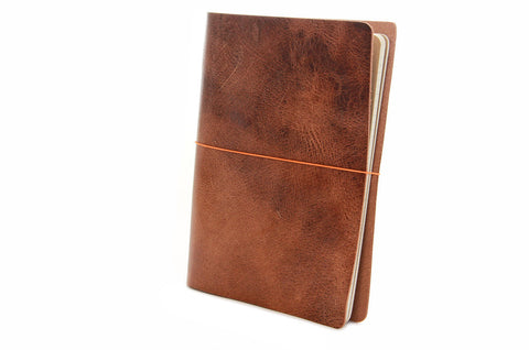 No. 1011 - Large Journal Cover in Glazed Tan