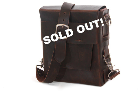 No. 312 - The Traveler in Aged Pebbled Brown - SOLD OUT