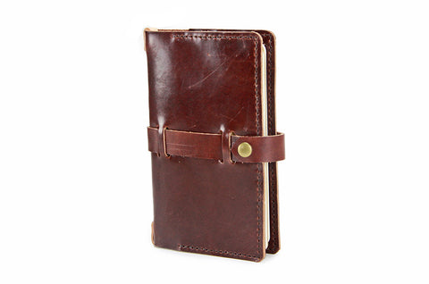 No. 117 - Medium Journal Cover in Havana Brown