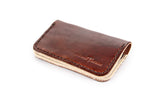 No. 215 - Card Wallet in Havana Brown