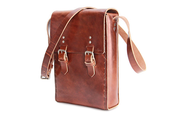 No. 917 -  Large Field Bag in Havana Brown