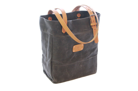 No. 814 - Canvas Tote in Grey