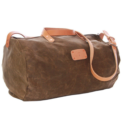 No. 815 - Canvas Duffle in Olive
