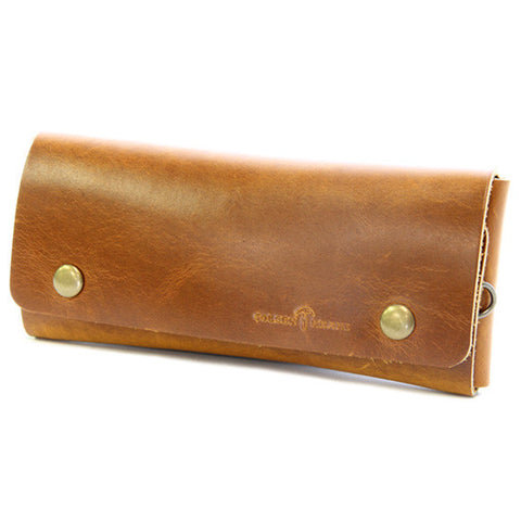 No. 514 - Large Trucker Wallet in Horween's Sunflower