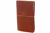 No. 510 - Medium Journal Cover in Vintage Brown - S27 - $55.60