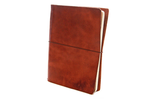No. 1011 - Large Journal Cover in Havana Brown