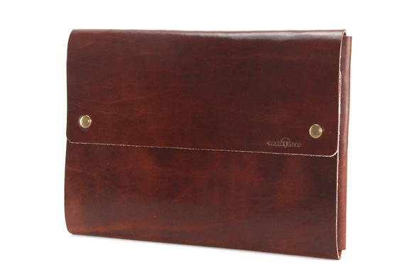No. 1214 - Extra Large Portfolio Case in Havana Brown