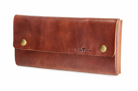 No. 318 - Trailblazer Map Case in Havana Brown