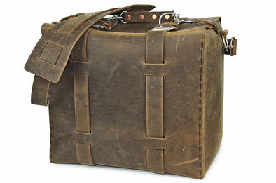 No. 1019 - Flight Bag in Crazy Horse