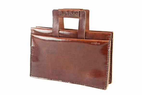 No. 4315 - Attaché Case in Havana Brown