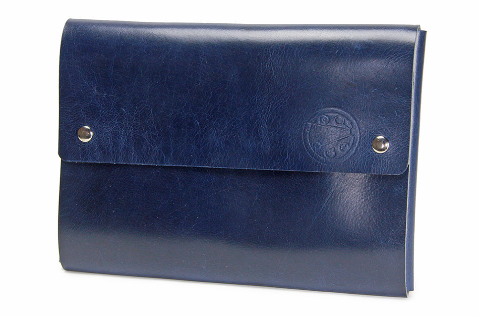 "No. 1214 - Standard Portfolio Case in Doctor Blue (Fits 13"" MacBook Pro & iPad Pro)"
