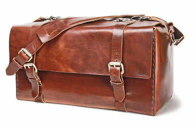 No. 613 - Large Duffle in Havana Brown
