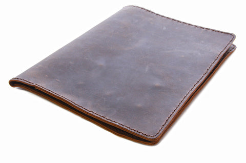 No. 715 - Notepad Portfolio in Crazy Horse Brown