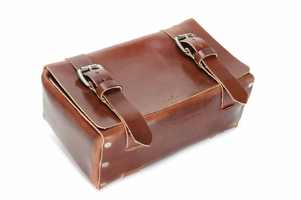 No. 215 Large Travel Case in Havana Brown