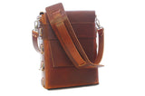 No. 820 - The Classic Handmade Leather Bag in Scotch Grunge