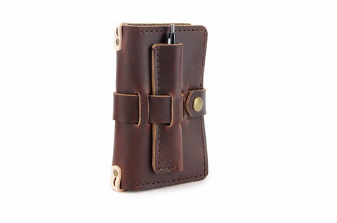 No. 1016 - Field Notes & Passport Cover in Limited Horween's Brown - ONLY 2 LEFT!