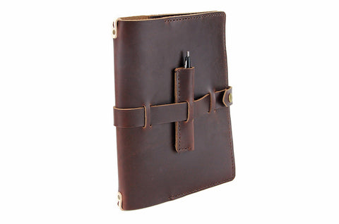 No. 117 - Large Journal Cover in Limited Horween's Brown