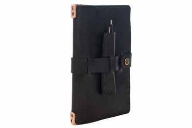No. 117 - Medium Journal Cover in Deep Black