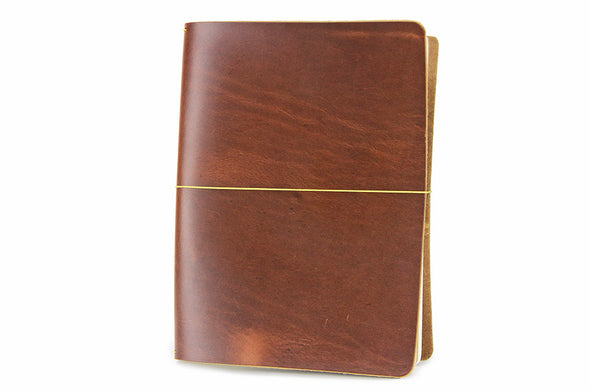 No. 1011 - Large Journal Cover in Burnt Sienna