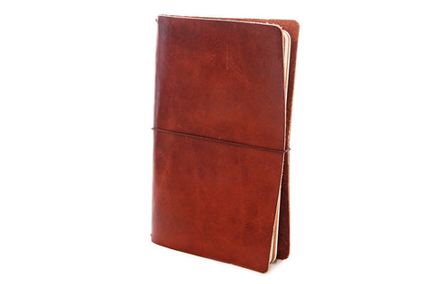 No. 510 - Medium Journal Cover in Havana Brown