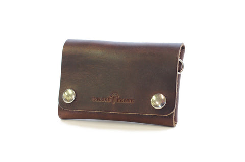 No. 514 - Small Trucker Wallet in Horween's Brown