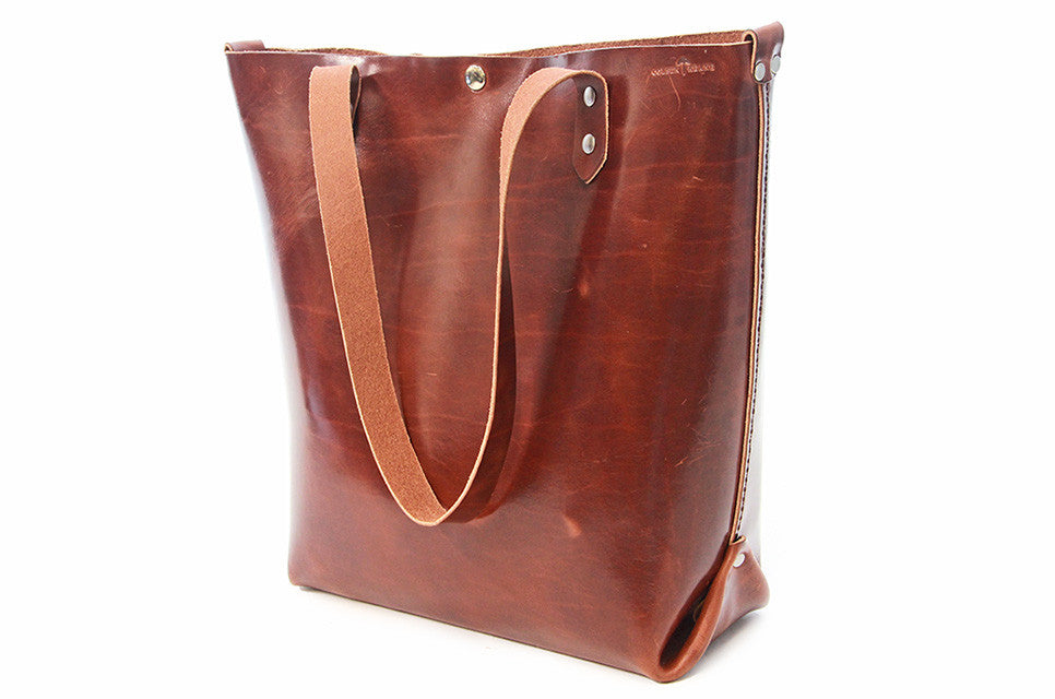 No. 417 Tote in Havana Brown