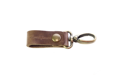 No. 614 - Key Fob in Horween's Natural Brown
