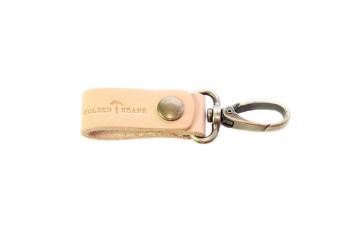 No. 614 - Key Fob in Natural Tan