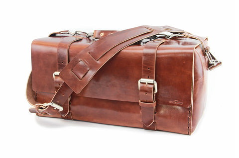 No. 613 - Small Duffle in Havana Brown