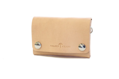 No. 514 - Small Trucker Wallet in Natural Tan