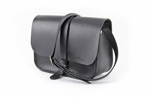 No. 517 The Daily Crossbody Bag in Deep Black