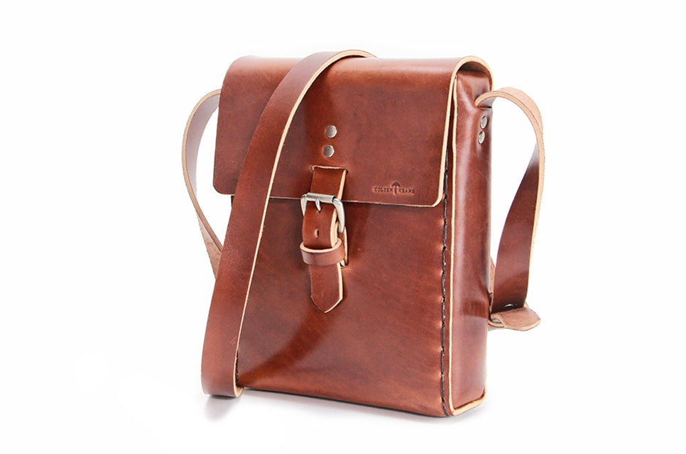 No. 917 - Standard Field Bag in Havana Brown