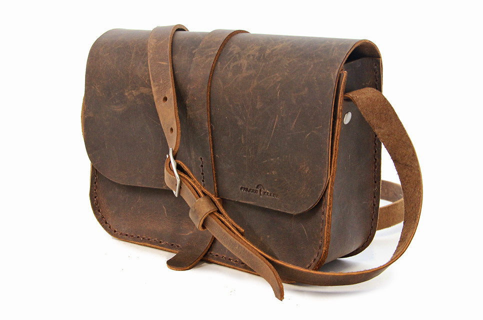 No. 517 The Daily Crossbody Bag in Crazy Horse