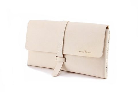 No. 317 Clutch in Natural Tan
