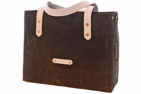 No. 1111 - Tote Bag in Crazy Horse