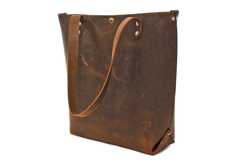 No. 417 Tote in Crazy Horse