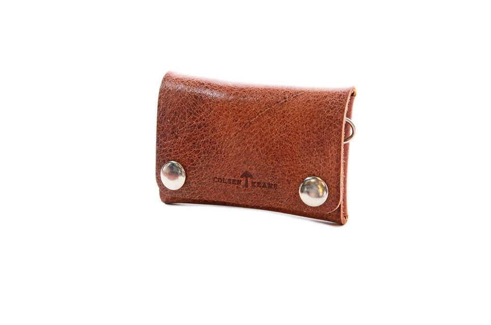 No. 514 - Small Trucker Wallet in Glazed Tan